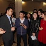 Встретились студенты и преподаватели разных вузов