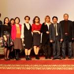 Участники встречи с художниками